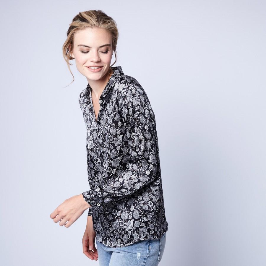 Silk shirt by Maison Montagut & Maison Martin Morel - Gheza