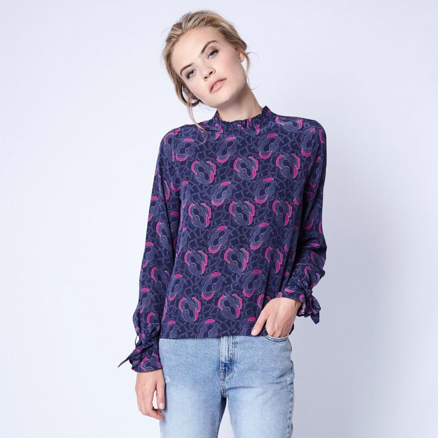 Silk blouse Maison Montagut x Maison Martin Morel - Exode