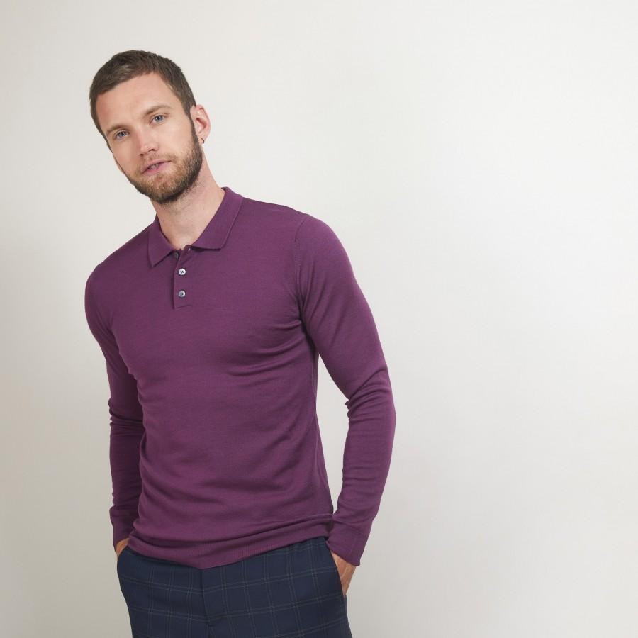 Wool polo neck sweater - Beni