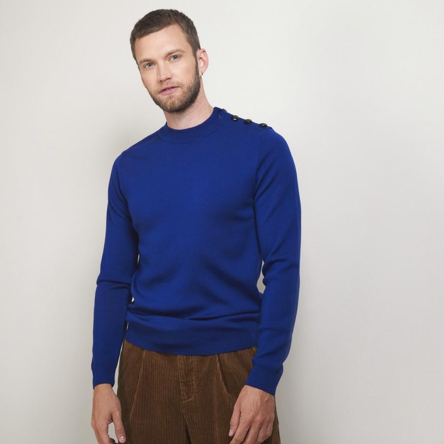 Pull en laine avec boutons - Legende