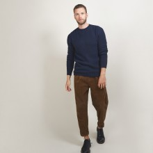 4-ply cashmere round neck sweater - Liverpool
