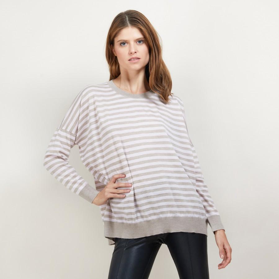 Striped wool sweater Felicia
