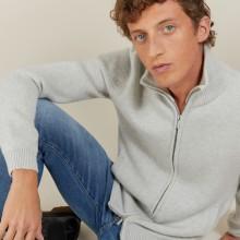 4-ply cashmere zipped jacket - Balthazar