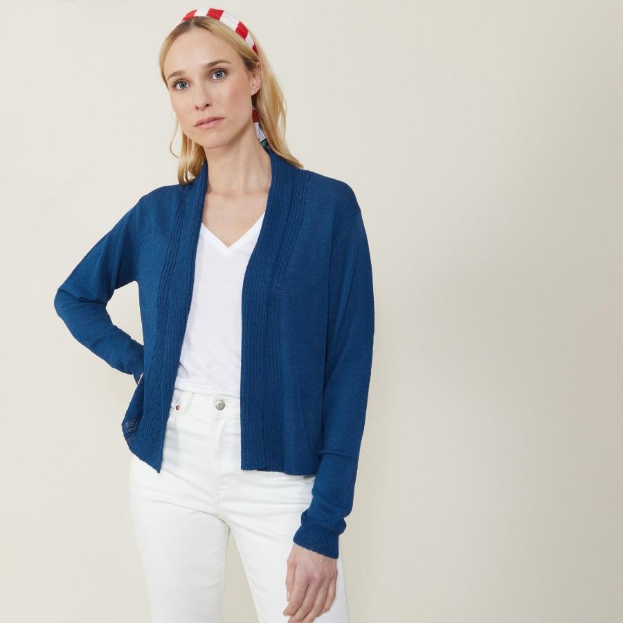Short jacket with shawl collar - Maddy