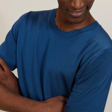 Round neck T-shirt in Fil Lumière - Bocca