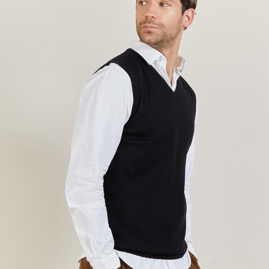 Man sleeveless sweater Estève