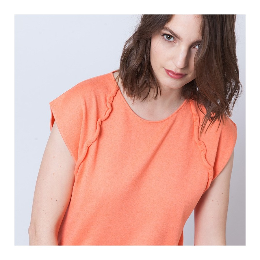 Blouse sans manches Adriano
