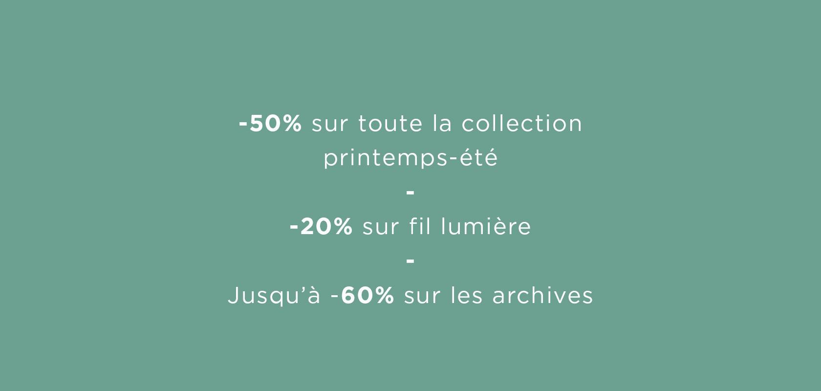 clothing summer sales Maison Montagut