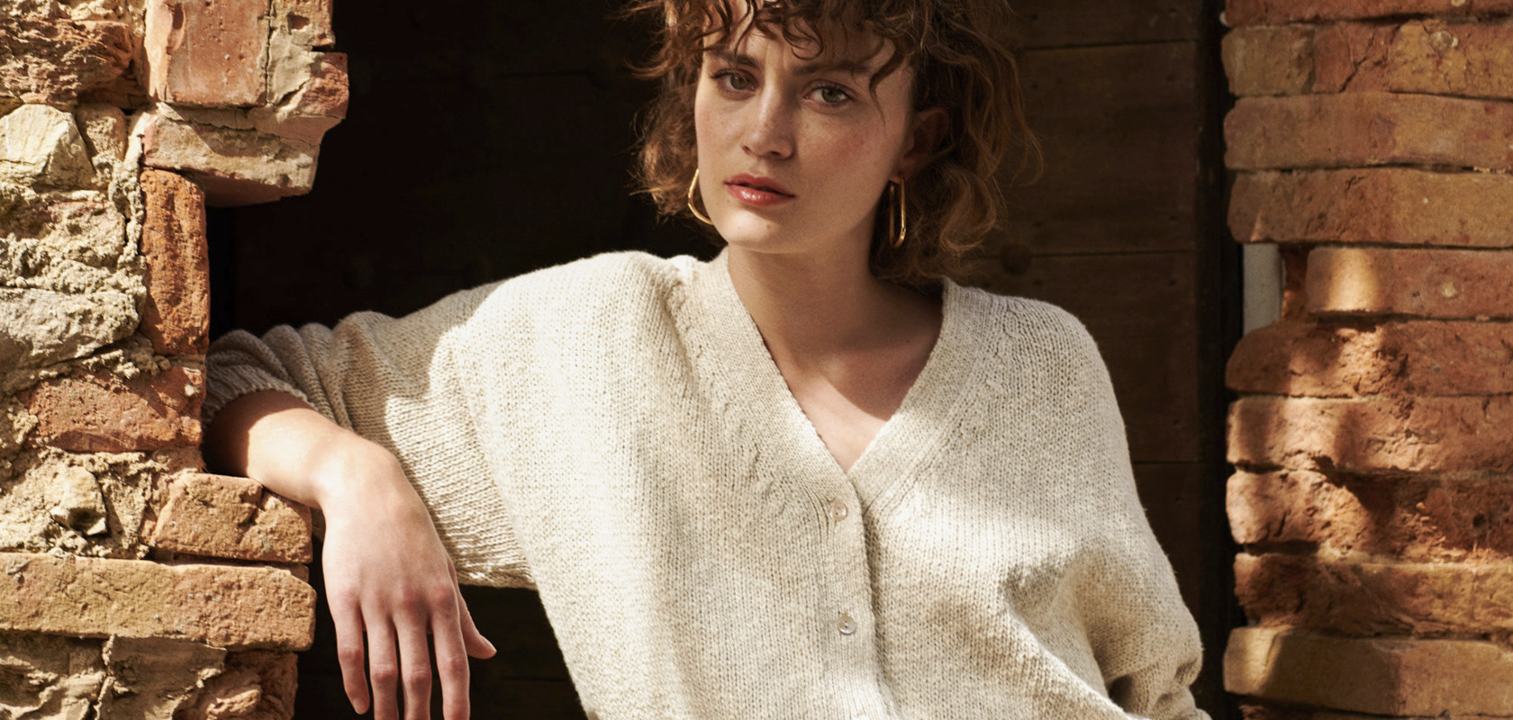 clothing woman cardigan Maison Montagut