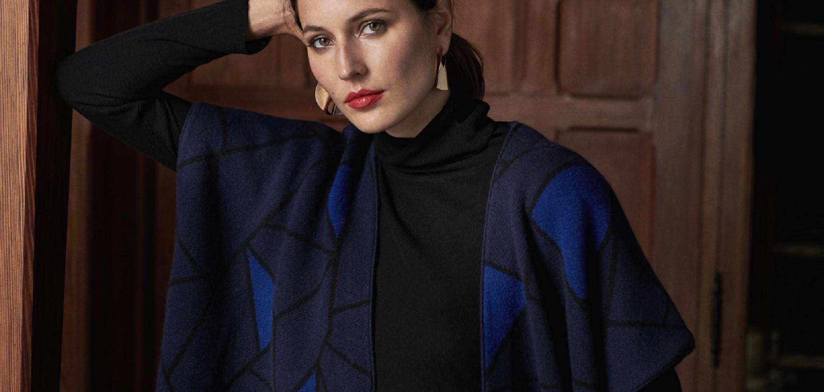 clothing woman cashmere cardigan Maison Montagut