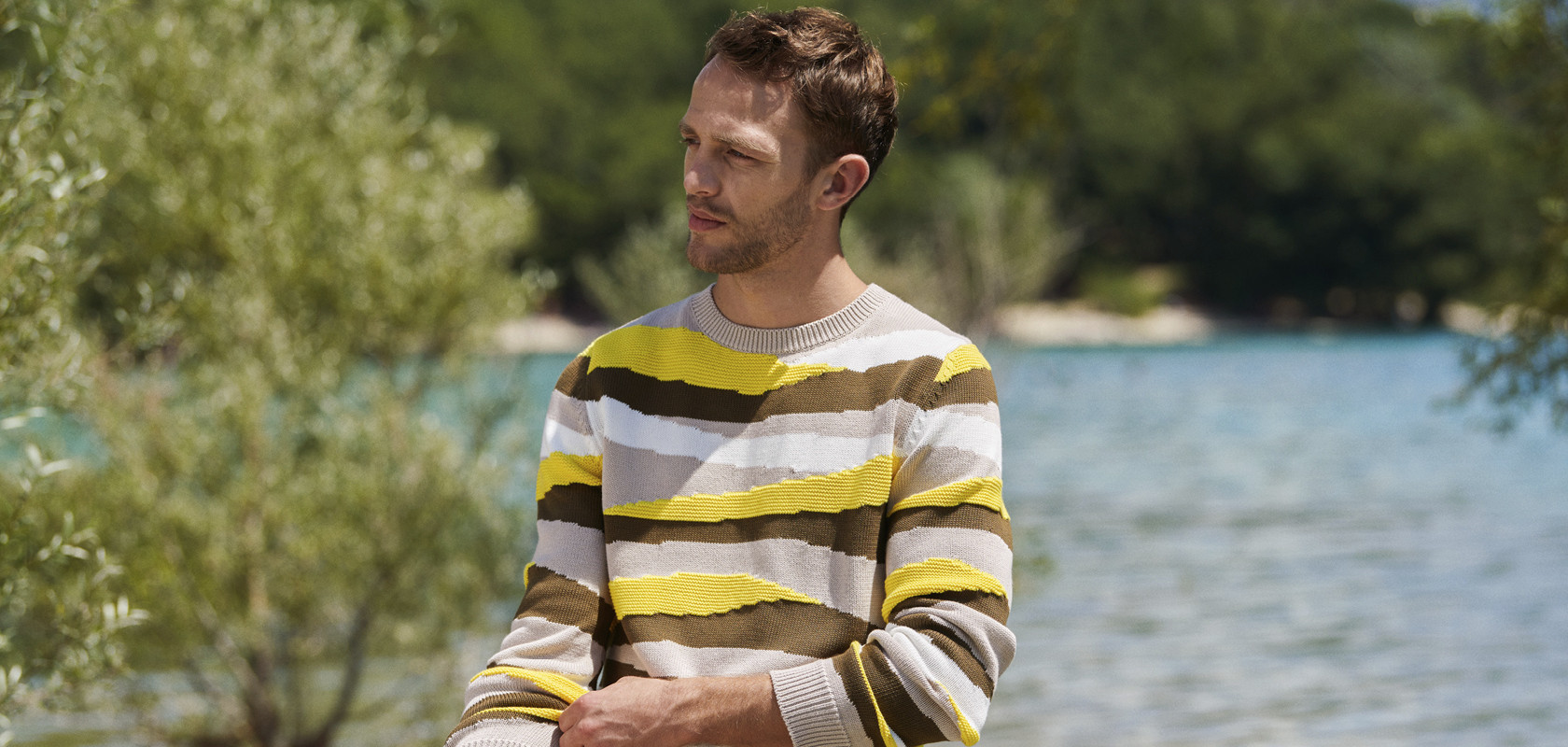 clothing man sweater Maison Montagut