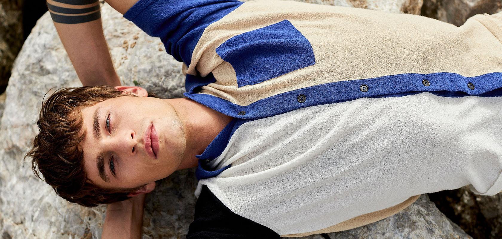 clothing man t-shirts Maison Montagut