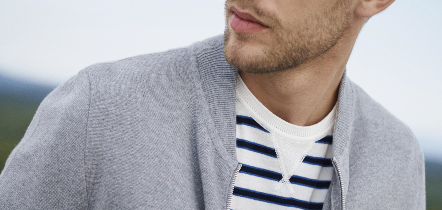 clothing man wool Maison Montagut